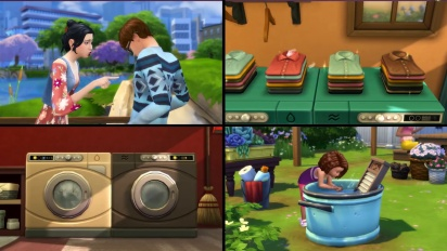 The Sims 4: Laundry Day Stuff - Official Trailer
